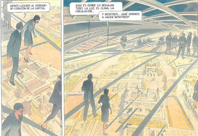 Viñetas de 'Volver a París'