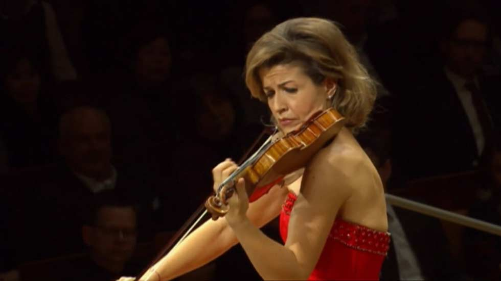 La violinista Anne-Sophie Mutter, Premio Yehudi Menuhin a la Integración de las Artes y la Educación