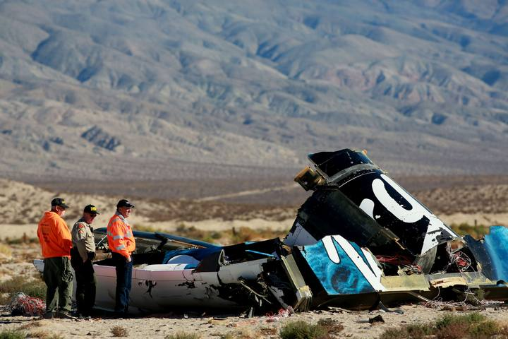 Virgin Galactic SpaceShipTwo Crashes During Test Flight In Mojave Desert
