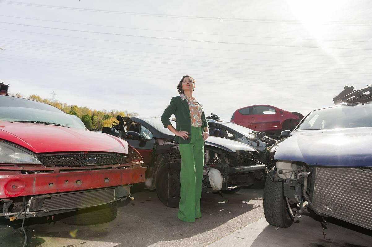 Virginia Díaz al ritmo de 'Rumba que tumba'