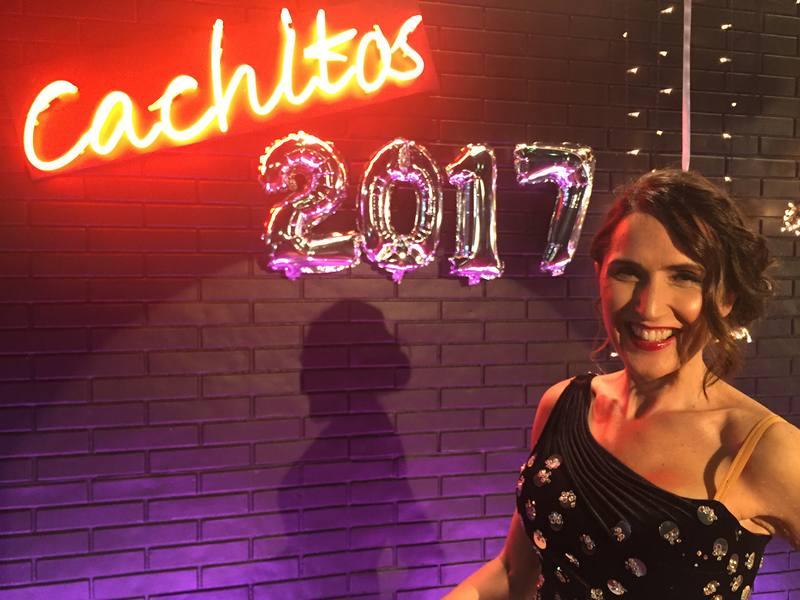 Viriginia Díaz presenta 'Nochevieja a Cachitos'