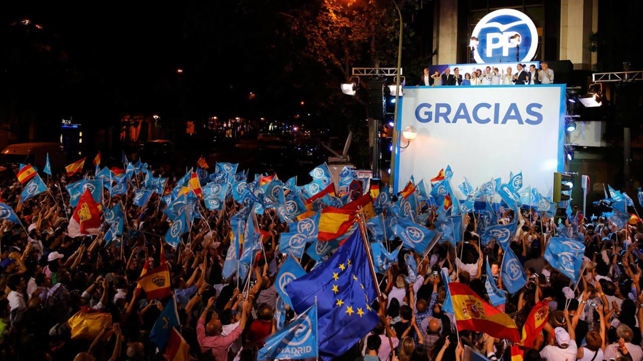 """Rajoy """"Hemos ganado las elecciones y reclamamos el derecho a gobernar"""""""