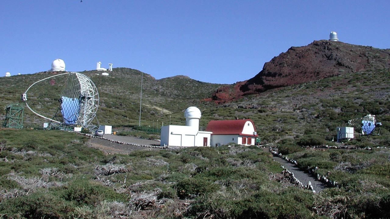 Vista general del El Observatorio Astronómico del Roque de los Muchachos, en la isla de la Palma.