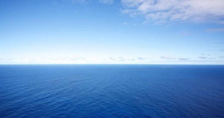 Vista general del océano Indico