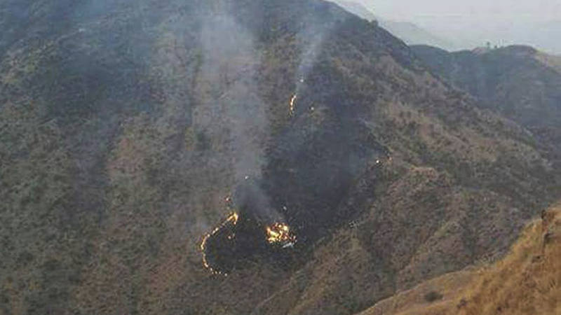 Un avión se estrella en el norte de Pakistán con 48 personas a bordo