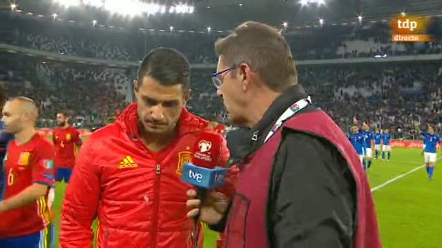 """Vitolo: """"Buffon es un grandísimo portero y no hay nada que decirle"""""""