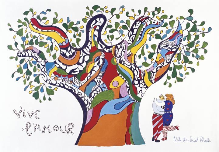 'Viva el amor (Vive l'Amour)', 1990. Niki de Saint Phalle. Niki Charitable Art Foundation, Santee, EE. UU.