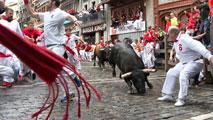Las mejores imágenes de los encierros de San Fermín 2016