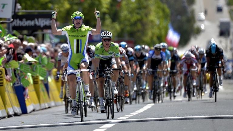Viviani vence la segunda etapa en la Dauphine