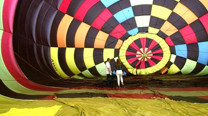 Volamos en globo por los cielos de Asturias
