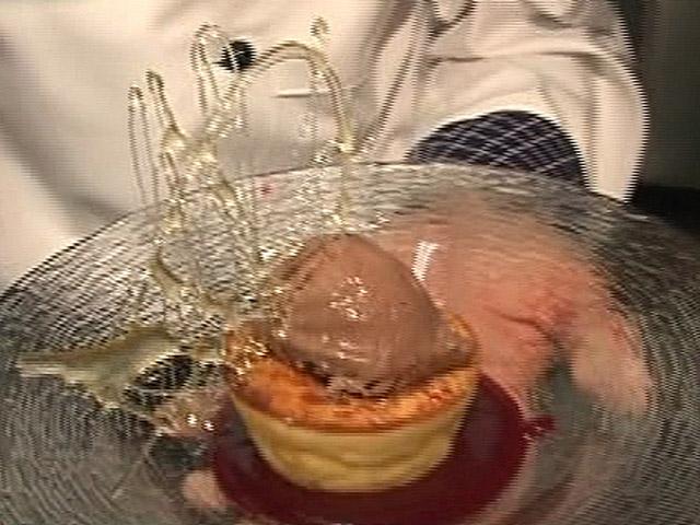 España Directo - Volcán de queso y chocolate
