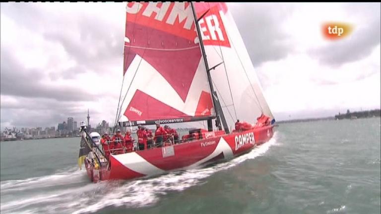 Vela - Volvo Ocean Race: Regata costera Auckland (Nueva Zelanda) - 17/03/12