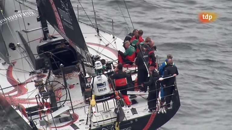Vela - Volvo Ocean Race. Regata costera Galway