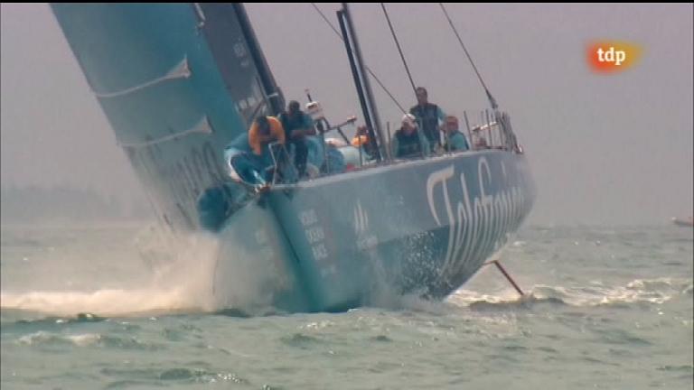 Vela - Volvo Ocean Race: Regata costera Sanya (China) - 18/02/12