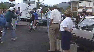 Vuelta 1996: Indurain abandona