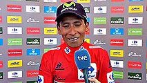 "Ir al VideoVuelta 2016 | Nairo Quintana: ""Meter segundos a estos rivales era mi objetivo principal"""