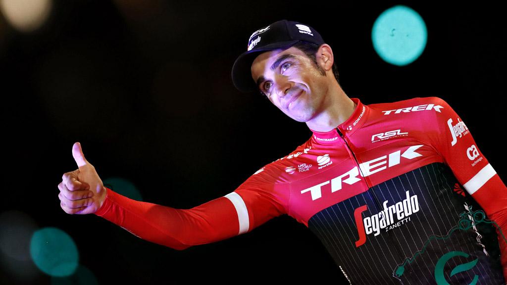 Vuelta 2017   Contador sube al podio como el más combativo de la Vuelta