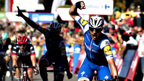 Vuelta 2017   Lampaert sorprende, gana la segunda etapa y es nuevo líder