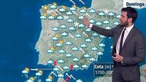 Vuelven las lluvias generalizadas, que serán fuertes en Andalucía