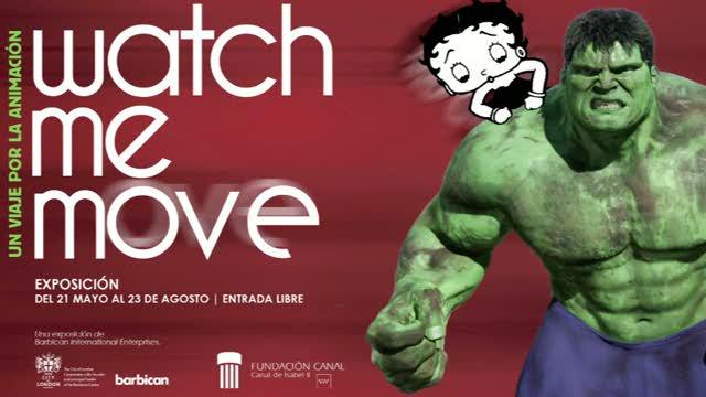 'Watch me move', la historia de la animación en Fundación Canal