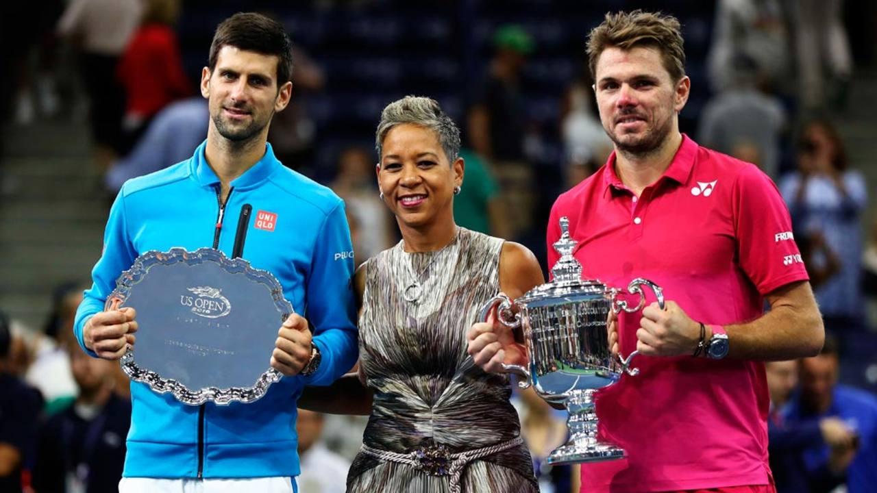 Wawrinka levanta el título junto al subcampeón, Djokovic