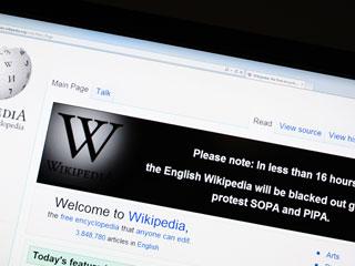 Wikipedia cerrará 24 horas en EEUU en contra de la Ley SOPA