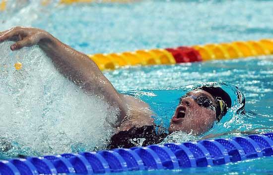 Wildeboer se clasifica para la final de 100 metros espalda