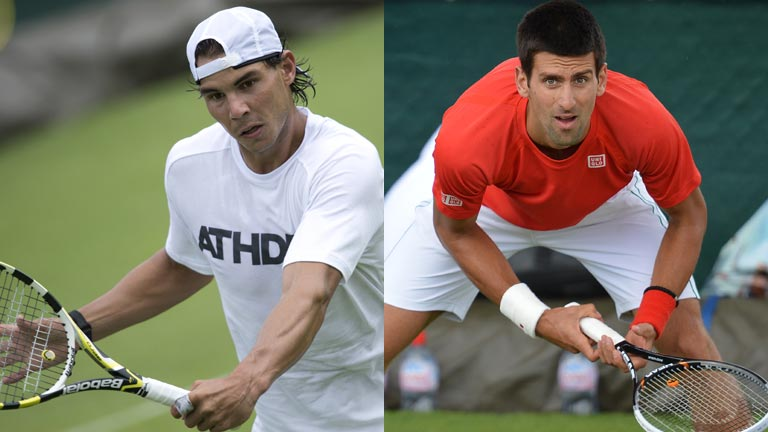 Wimbledon 2012 ya está aquí con Nadal y Djokovic a punto