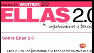 Cámara abierta 2.0 - Comunidades de mujeres emprendedoras, El blog El Ojo de Darwin y Bimba Bosé en 1minuto.COM - 21/04/12