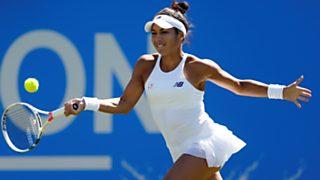 Tenis - WTA Torneo Eastbourne  (Inglaterra): H. Watson - D. Cibulkova