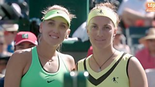 Tenis -  WTA Torneo Indian Wells (EEUU) Final: E. Vesnina - S. Kuznetsova