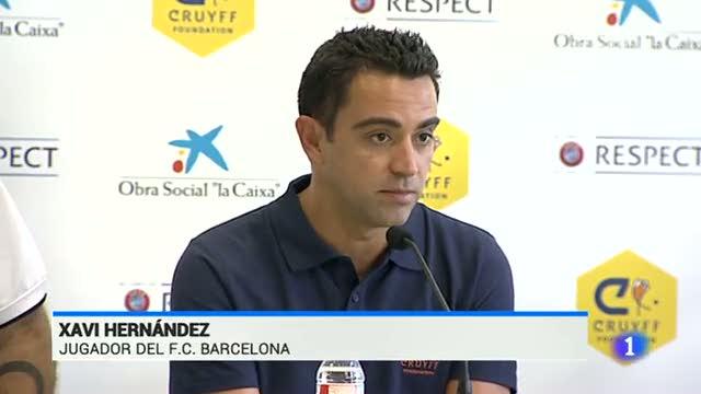 """Xavi dice que su charla con Casillas """"fue por el bien del fútbol español"""""""