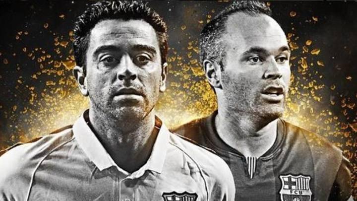 Xavi e Iniesta se encuentran entre los 15 centrocampistas preseleccionados.