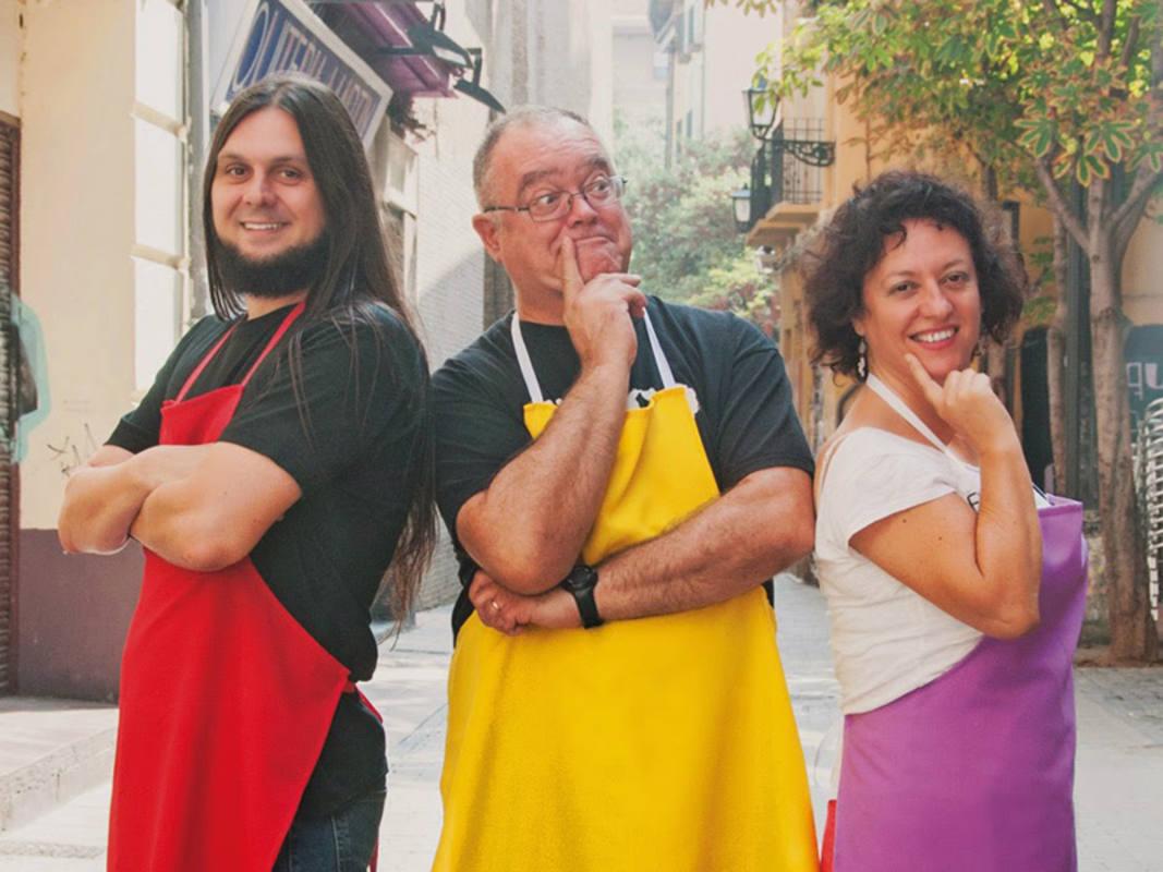 Xcar Malavida, Carlos Azagra y Encarna Revuelta fotgrafiados por Andrea Campos