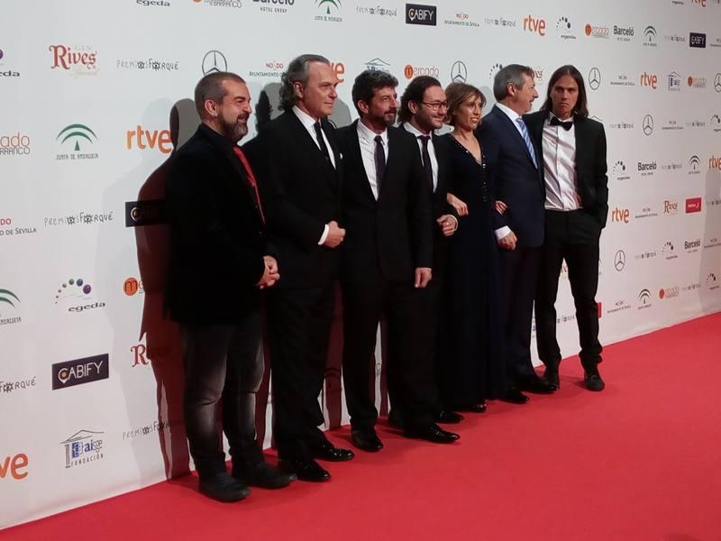 Raúl Arévalo triunfa en los Premios Forqué