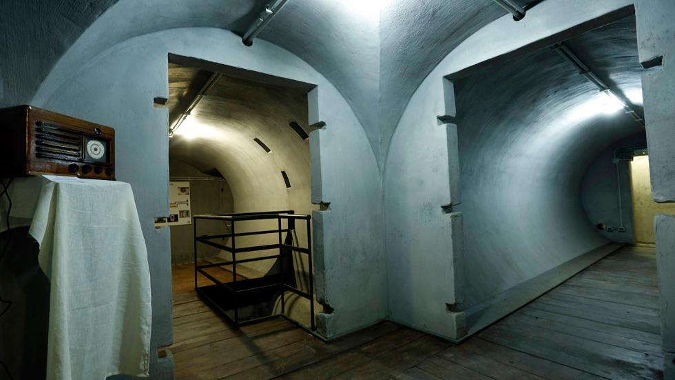 Ya se puede visitar en Roma el primer búnker que Mussolini construyó en su residencia de Villa Torlonia