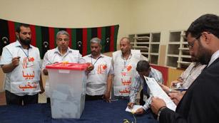 Sigue el recuento de votos de las legislativas en Libia