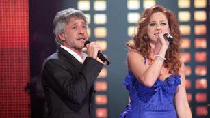 """Eurovisión 2012 - Sergio Dalma y Pastora Soler cantan """"Yo no te pido la luna"""""""