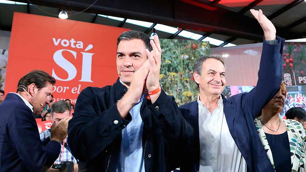 """Zapatero agradece a Iglesias sus """"palabras amables"""" y las interpreta como un reconocimiento al PSOE"""