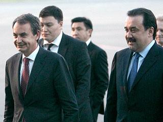 Zapatero, en Kazajstán para impulsar acuerdos económicos
