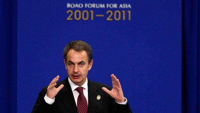 """Zapatero: """"Las palabras de Pekín se traducen siempre en hechos"""""""