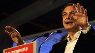 El expresidente del Gobierno ha pedido unidad  en su último discurso