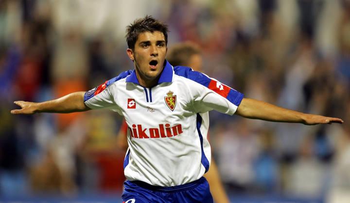 David Villa vuelve al Real Zaragoza
