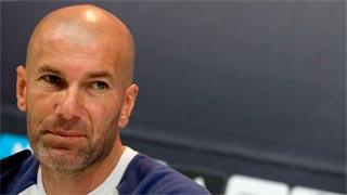 """Zidane: """"Da igual el dibujo, lo que importa es la actitud y la abnegacion"""""""