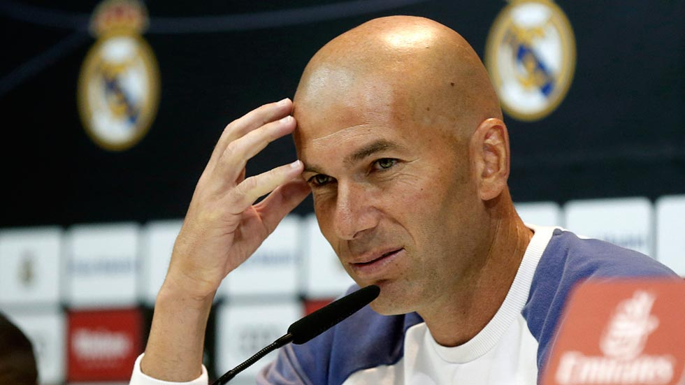 """Zidane: """"Me gusta Isco, va a jugar ante el Eibar"""""""