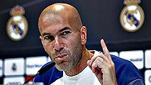 """Zidane: """"Lo importante es que CR7 tenga ocasiones de gol"""""""