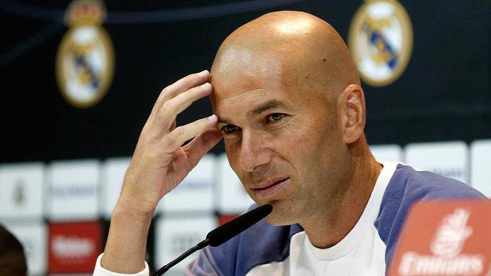 """Zidane se considera el """"responsable"""" de la actual situación del equipo"""