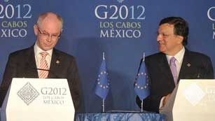Los problemas económicos de la zona euro marcan la cumbre del G20