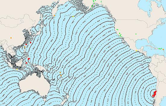 Chile está situado en una de las zonas con más actividad sísmica del mundo