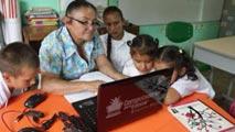 Ir al VideoZonas rurales de Colombia ya tienen acceso a internet